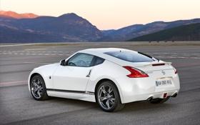 Обои белый, машины, фото, тачки, Nissan, белые, ниссан