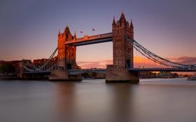 Обои Tower Bridge, London, England
