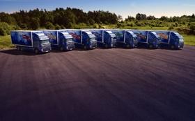 Картинка грузовики, Volvo, автомобили