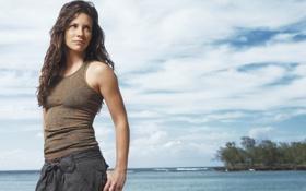 Картинка остров, lost, актриса, Evangeline Lilly, остаться в живых