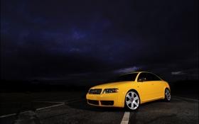 Картинка фото, auto, cars wall, трасса, cars, Audi s4, дорога