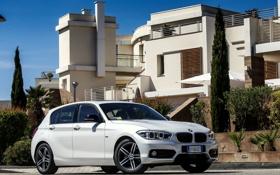 Обои бмв, BMW, 5-door, Sport Line, 2015, F20, 116d