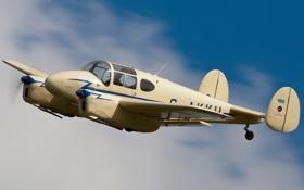 Картинка самолет, легкий, многоцелевой, Gemini, Miles M.65