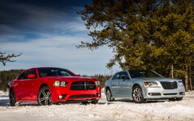 Обои Crysler, and, Dodge Charger, 300c