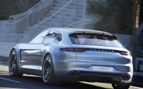 Обои авто, Concept, спорт, Porsche, концепт, Panamera, порше