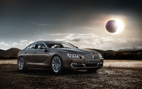 Картинка бмв, BMW, 6 series, F06, 2015, gran coupe