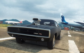 Обои game, 2012, race, Need for speed, Most wanted, Dodge Charger R/T