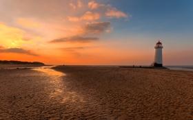 Обои песок, море, вода, люди, настроение, океан, романтика