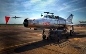Обои оружие, самолёт, MiG-21