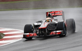 Обои болид, 2012, formula 1, Lewis Hamilton, макларен, Mclaren, хэмильтон