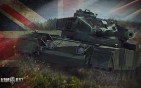 Картинка танк, Великобритания, танки, WoT, Мир танков, United Kingdom, tank