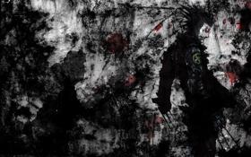 Картинка кровь, один, Росомаха, wolverine, комикс