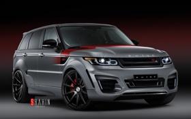 Обои Range Rover, Sport, рендж ровер, 2015, RHINO SS