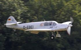 Обои легкий, размытость, Messerschmitt, немецкий, Me-108, самолёт. фон