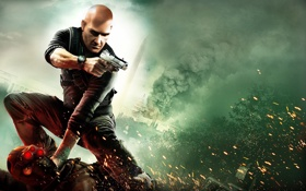 Обои Игра, Пистолет, Splinter Cell Conviction, Стелс-экшен, Агент 47, Хитмэн, Hitman 5