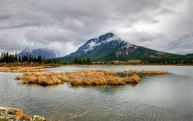 Картинка canada, alberta, Vermilion Lakes