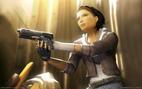 Картинка half-life 2, hl2, Халф-Лайф 2., Алекс Вэнс, alyx vance