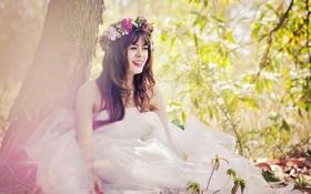Обои love, girls, smile, view, vietnam, men hope
