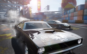 Обои гонка, автомобили, автоспорт, Need for Speed ProStreet