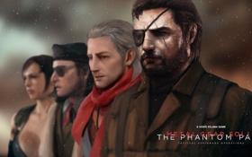 Картинка снайпер, Snake, Shalashaska, Revolver Ocelot, Metal Gear Solid V: The Phantom Pain, Ocelot, Kazuhira Miller