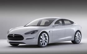 Обои суперкар, седан, Tesla