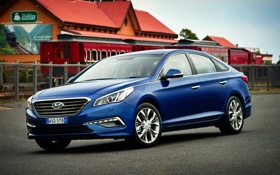 Картинка Hyundai, AU-spec, 2015, хундай, Sonata, соната