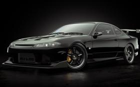 Обои Studio, Nissan, SilviaS15