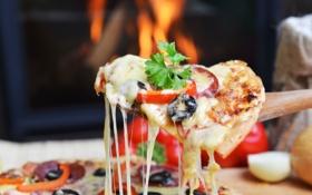 Картинка pizza, portion, porcion, queso, cheese