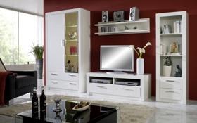 Обои дизайн, комната, гостиная, интерьер, стиль