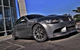 Обои silver, BMW, tuning
