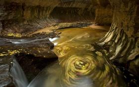 Картинка природа, река, скалы