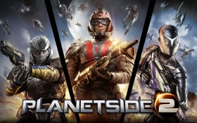 Обои red republic, Sony Online Entertainment, sovereignty, PlanetSide 2, New conglomerate