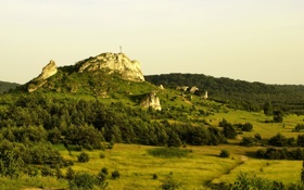 Картинка пейзаж, природа, гора, Польша, Gmina, Tatrzanska, Bukowina