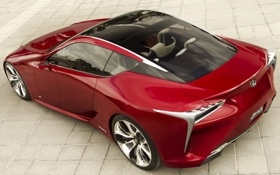 Обои машина, авто, Concept, Lexus, ракурс, лексус, LF-LC