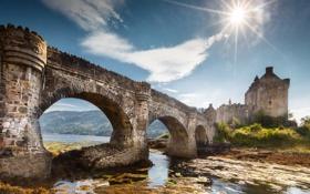 Картинка Scotland, Castle, Eilean Donan