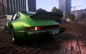 Обои город, классика, need for speed most wanted 2, Porsche turbo