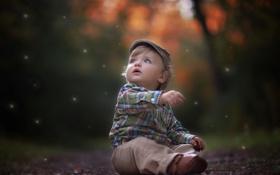 Обои настроение, портрет, мальчик