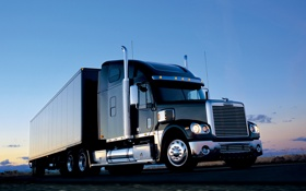 Обои грузовик, автомобили, freightliner, trucks, coronado