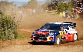 Картинка Ралли, Red Bull, Спорт, Rally, WRC, Занос, Люди