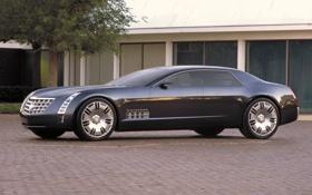 Картинка Concept, длинный, Cadillac, большой, концепт, автомобиль, Sixteen