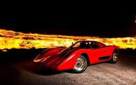 Обои огонь, McLaren, Manta Montage