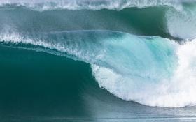 Обои море, пена, волна