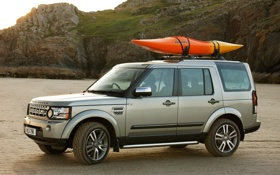 Обои Англия, Дискавери, Land Rover, Car, Discovery, Внедорожник, Четыре