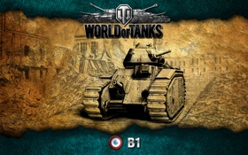Обои Франция, танки, WoT, World of Tanks