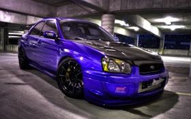 Обои тюнинг, Subaru, Impreza, WRX, STI II