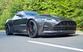 Обои Cyrus, DB9, тюнинг, мансори, дорога, скорость, Aston Martin