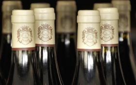 Картинка макро, вино, бутылки