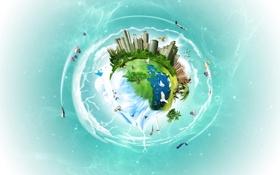 Картинка земля, планета, the%20lost%20planet