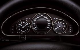 Обои Mercedes-Benz, приборы, amg, CLS-Klasse, cls55