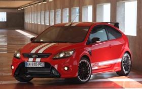 Обои Ford, Красный, Белый, Машина, Форд, Обои, Полоски